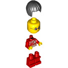 LEGO Girl in Red Shirt Minifigure