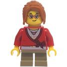LEGO Girl in Red Sweater Minifigure