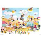LEGO Girl's Freestyle Set, 5+ Set 4151