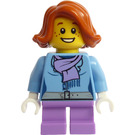 LEGO Girl Train Passenger Minifigure