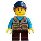 LEGO Girl with Dark Tan Vest Minifigure