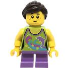 LEGO Girl with Dolphin Shirt Minifigure