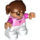 LEGO Girl with Heart Top Duplo Figure