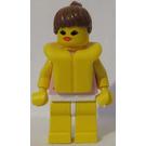 LEGO Girl with pink shirt and life jacket Minifigure