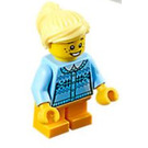 LEGO Girl with Sweater and Freckles Minifigure