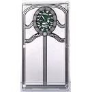 LEGO Glass for Window 1 x 4 x 6 with Decoration (6202 / 25803)