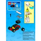 LEGO Go-Kart Set 6498 Instructions