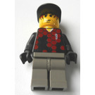 "LEGO Goalkeeper with Red and Black Torso, ""1"" Minifigure"