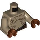 LEGO Goblin Scribe Torso (76382)