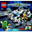 LEGO Gold Heist Set 5971 Instructions