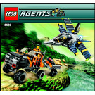 LEGO Gold Hunt Set 8630 Instructions