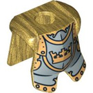 LEGO Gold Knight Minifig Armour Plate (86340)