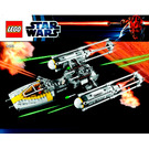 LEGO Gold Leader's Y-wing Starfighter Set 9495 Instructions