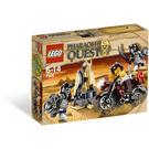 LEGO Golden Staff Guardians Set 7306 Packaging