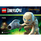 LEGO Gollum Fun Pack Set 71218 Instructions