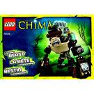 LEGO Gorilla Legend Beast Set 70125 Instructions