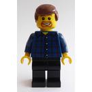 LEGO Grand Carousel Male with Plaid Shirt Minifigure
