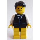 LEGO Grand Emporium Male with Jacket and Tie Minifigure