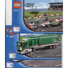LEGO Grand Prix Truck Set 60025 Instructions