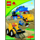 LEGO Gravel Pit Set 4987 Instructions
