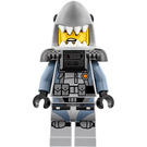 LEGO Great White Shark Army Thug with Airtanks Minifigure