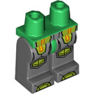 LEGO Green Aaron - No Clip on Back (70325) Minifigure Hips and Legs (23775)
