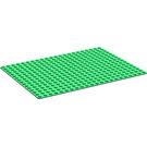 LEGO Green Baseplate 16 x 22