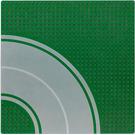 LEGO Baseplate 32 x 32 Road 8-Stud Curve
