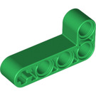 LEGO Green Beam 2 x 4 Bent 90 Degrees, 2 and 4 holes (32140)