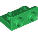 LEGO Green Bracket 1 x 2 - 1 x 2 Up (99780)