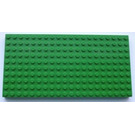 LEGO Brick 10 x 20 with Bottom Tubes in single row around edge, with '+' Cross Support