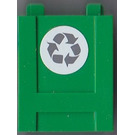 LEGO Container 2 x 2 x 2 Crate with Recycling Sticker (61780)