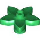 LEGO Green Duplo Flower with 5 Angular Petals (6510)