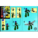 LEGO Green Exo Fighter Set 3886 Instructions