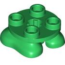 LEGO Green Feet 2 x 2 x 2/3 (66858)