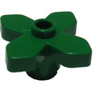 LEGO Green Flower 2 x 2 with Angular Leaves (4727)