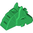 LEGO Green Horse Battle Helmet (Angular) (48492)
