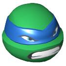 LEGO Green Leonardo Head (13009)