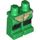 LEGO Green Leonardo Scuba Gear Minifigure Hips and Legs (17862)