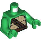 LEGO Green Leonardo Torso (76382)