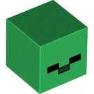 LEGO Green Minecraft Zombie Head (20049 / 28269)