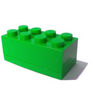 LEGO Green Mini 2x4 Storage Brick (4012)