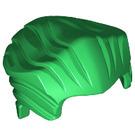 LEGO Green Minifigure Hair Swept Back with Widow's Peak (64798)