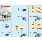 LEGO Green Ninja Mech Dragon Set 30428 Instructions