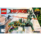 LEGO Green Ninja Mech Dragon Set 70612 Instructions