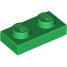 LEGO Green Plate 1 x 2 (3023)