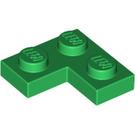 LEGO Green Plate 2 x 2 Corner (2420)