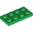 LEGO Green Plate 2 x 4 (3020)