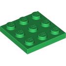 LEGO Green Plate 3 x 3 (11212)