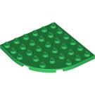 LEGO Plate 6 x 6 Round Corner (6003)